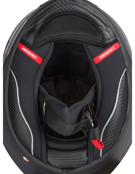 Casco integral scorpion Exo 1400 Air free Negro gris