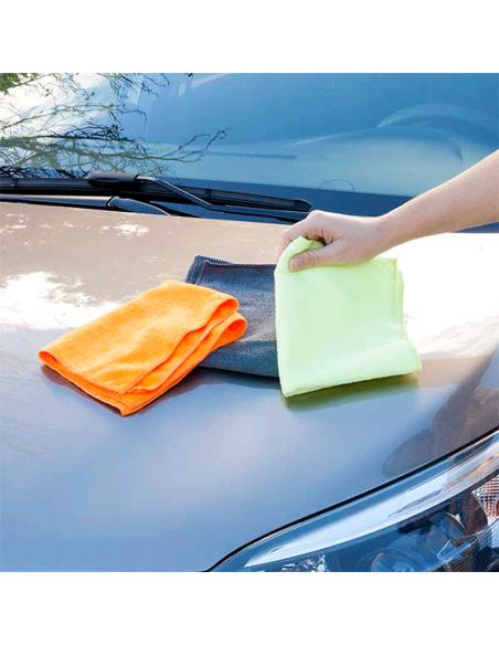 bayeta para secar el coche