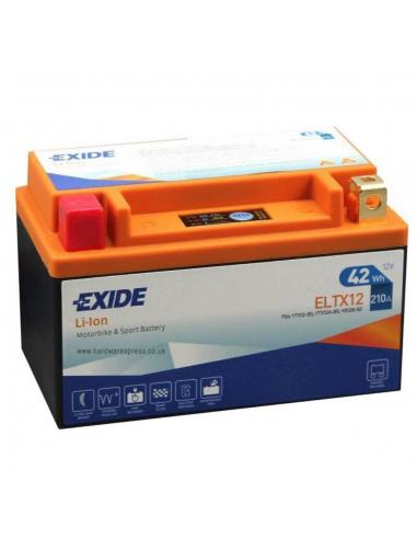 Bateria de Moto Litio Exide ELTX12