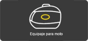 Equipaje para moto